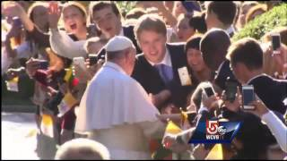 Jam-packed schedule for pope during 6-day visit – WCVB Boston