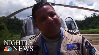 Meet The Helicopter Pilot Who Saved Lives During Hurricane Maria | NBC Nightly News
