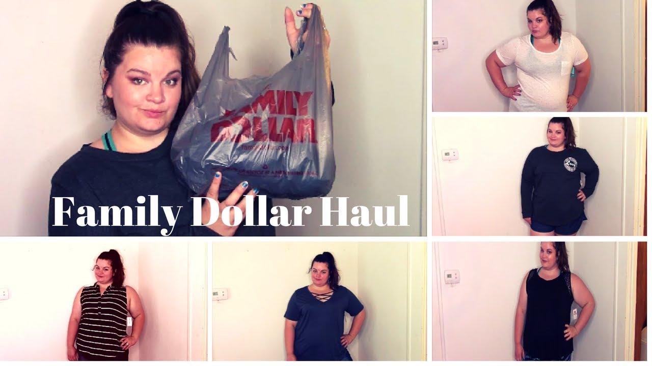 Plus Size Family Dollar Clothing Haul