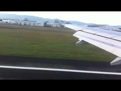 Cebu Pacific landing in Mactan-Cebu International Airport - [HD]