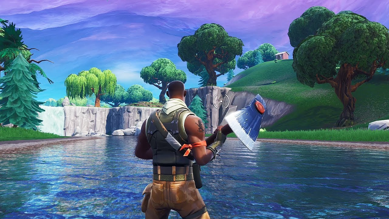 The SPF remains at 60 regardless of what happens on the map. (Image: Fortnite)