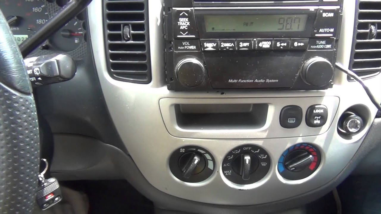 Gta Car Kits Mazda Tribute 2002 2006 Ipod Iphone And Aux Adapter 5 Engine Diagram Installation