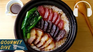 臘味煲仔飯/Hong Kong Style Claypot Rice/香港式土鍋ご飯 | The Sound Of Food