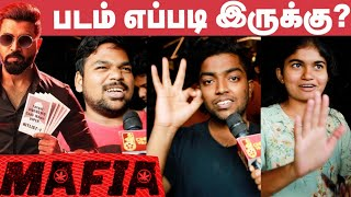 Mafia Review Public | Mafia Movie Review | Arun Vijay | Karthick Naren | #MafiaFromFeb21