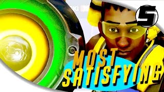 TOP 10 MOST SATISFYING MOMENTS IN OVERWATCH ( Overwatch Best Moments )