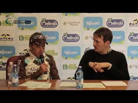 Giro del Trentino Melinda 2015 - Pozzovivo's press conference April 23rd