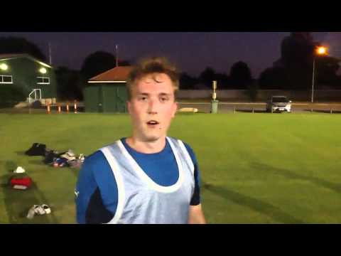 Backpackers FC First Ever Training Session
