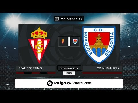 Real Sporting - CD Numancia MD15 S1800