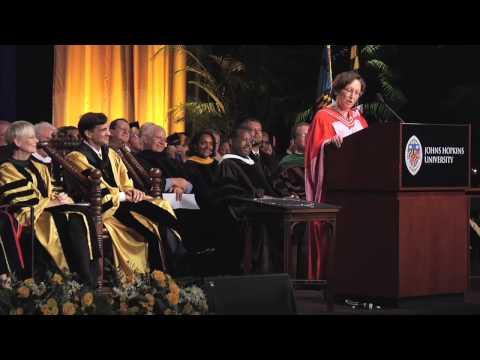 Madam Justice Rosalie Silberman Abella, Johns Hopk...