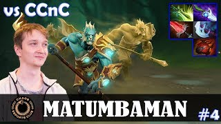 MATUMBAMAN - Phantom Lancer Safelane | vs CCnC (Windranger) | Dota 2 Pro MMR Gameplay #4
