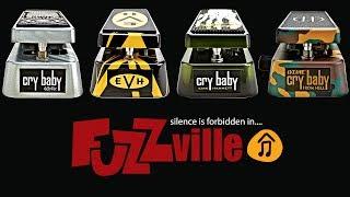Download Dunlop Cry Baby Shootout - Zakk Wylde, Van Halen, Kirk Hammett & Dimebag Darrell signature models MP3 song and Music Video
