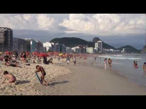360 Copacabana w Rio de Janeiro. Brazylia