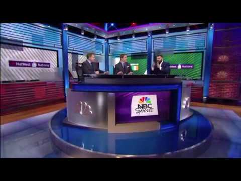 Corbisiero and Lyle's Round Five Review on NBC Sport! | NBC on NatWest 6 Nations