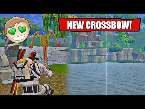 Kinda Cool Crossbow Shots (New Fortnite Crossbow)