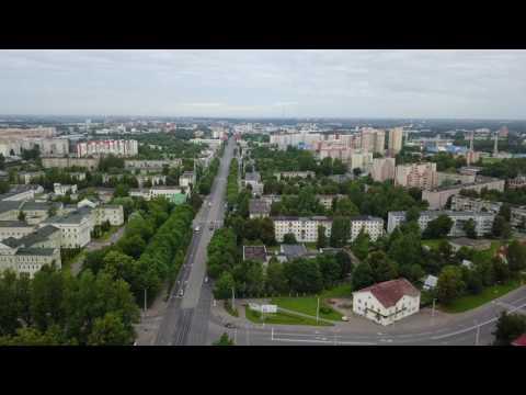 Улица Лазо и проспект Фрунзе