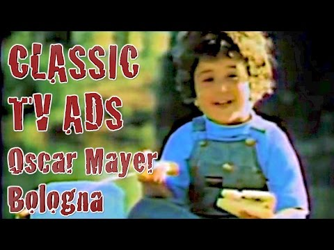 Oscar Mayer My Bologna Has A First Name Song Classic TV Ad Commercial