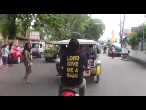 Family Ride to Church - Tanjay, Philippines
