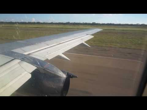 Air Zimbabwe UM323 Boeing 737-200 Departing Victoria Falls for Harare