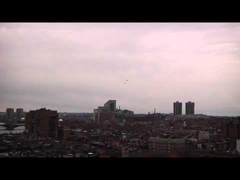 Blue Angels Fly Over Boston, Nov 17, 2011, 1080p