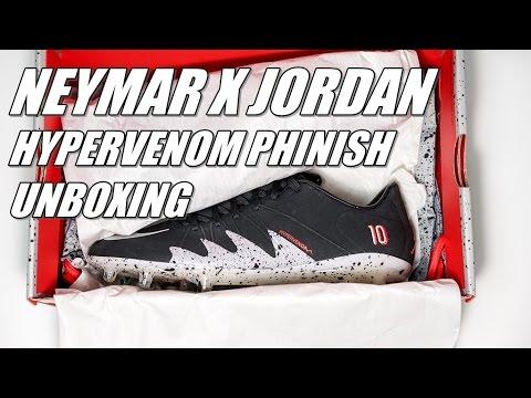 dbcc90626  언박싱  네이마르 X 조던 하이퍼베놈 피니시 축구화 (Neymar X Jordan Hypervenom Phinish Unboxing )