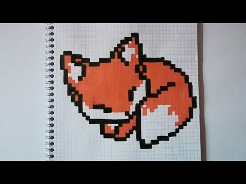 Pixel Art Renard Youtube