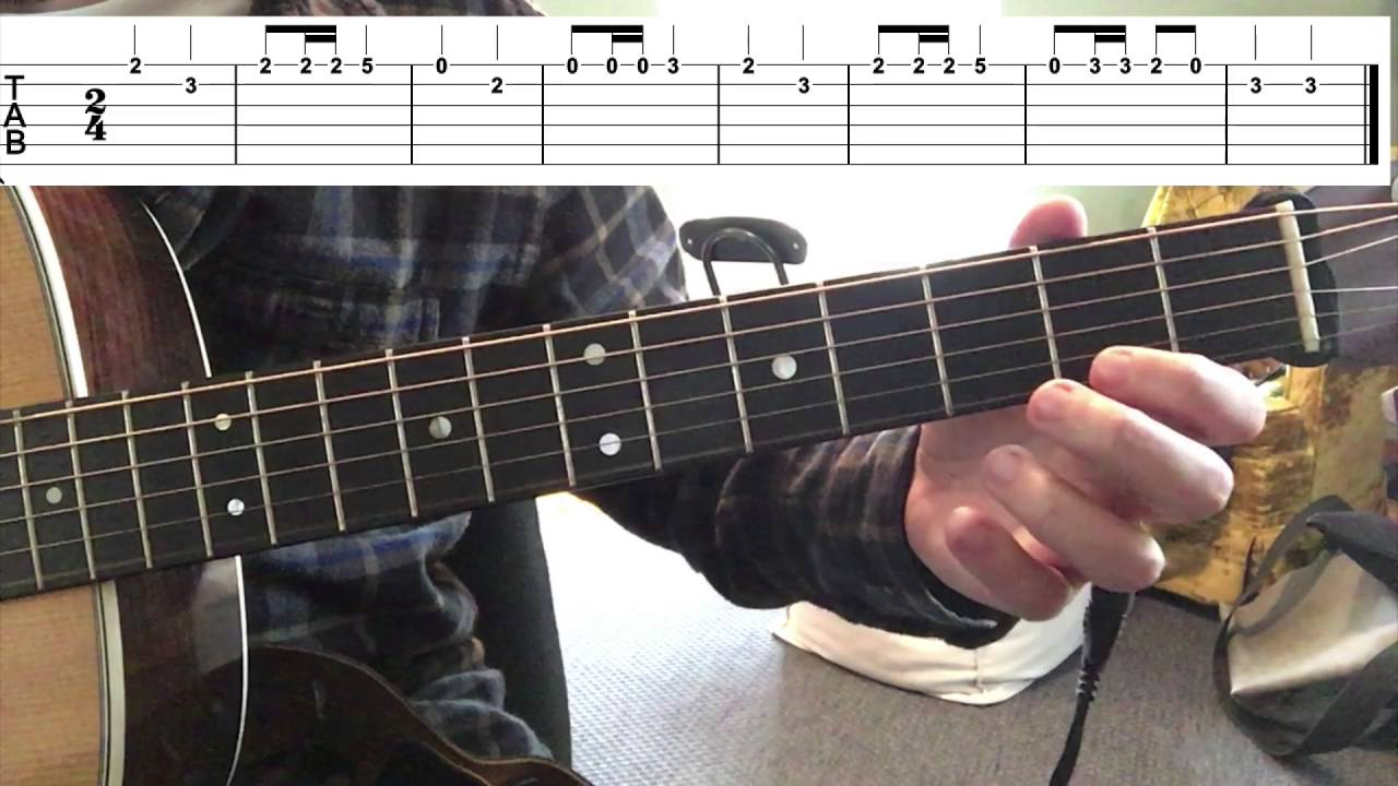 Skip To My Lou Guitar Melody Youtube