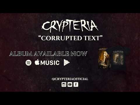 "CRYPTERIA - ""Corrupted Text"" Lyric Video"