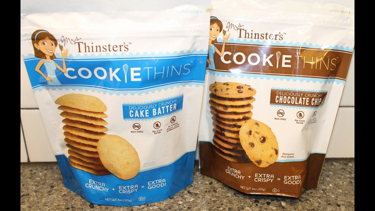 Cookie Thins Cake Batter