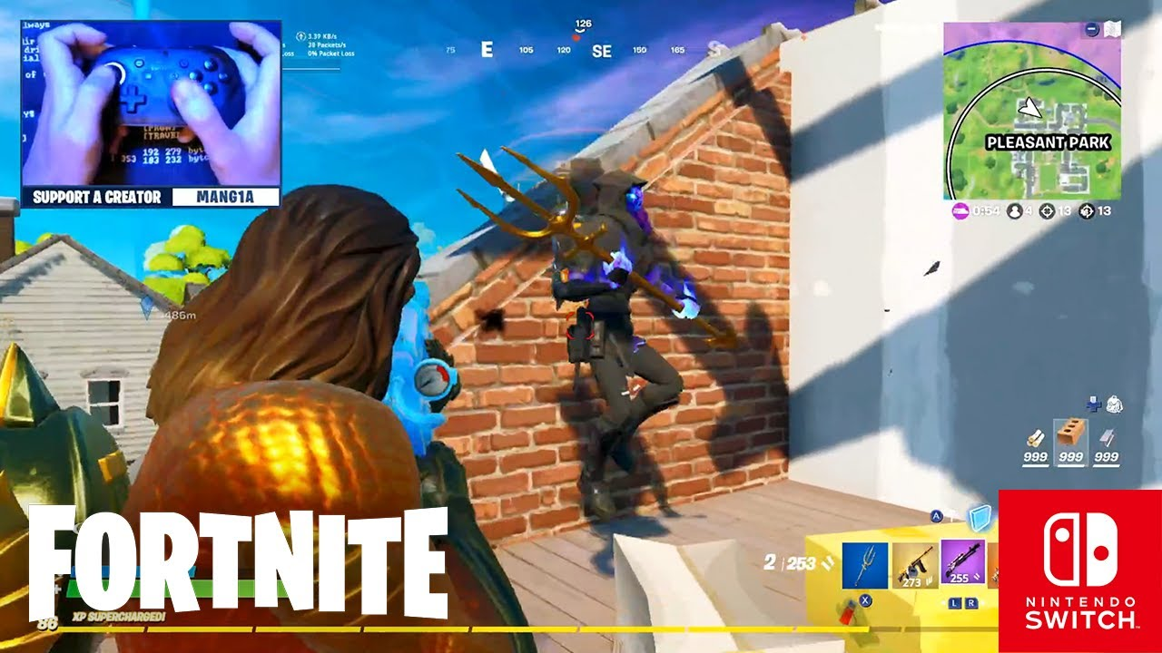 CLAW HANDCAM - Fortnite on the Nintendo Switch Pro Controller #78