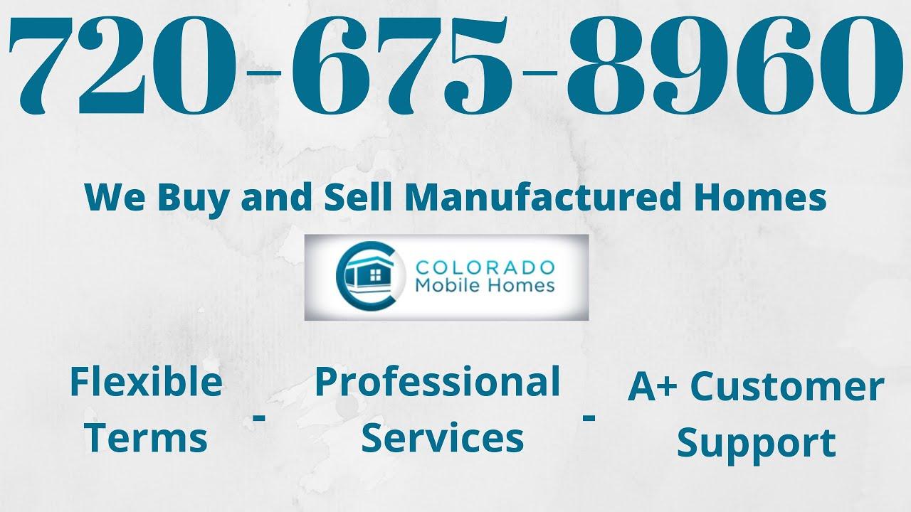 Mobile Home For Sale Colorado 137 Golden Terrace Youtube