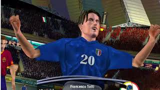 fifa world cup 2002 pc gameplay-Italy vs Spain 9-0