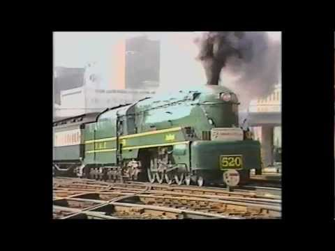 520 blasting out of Adelaide Railway Station