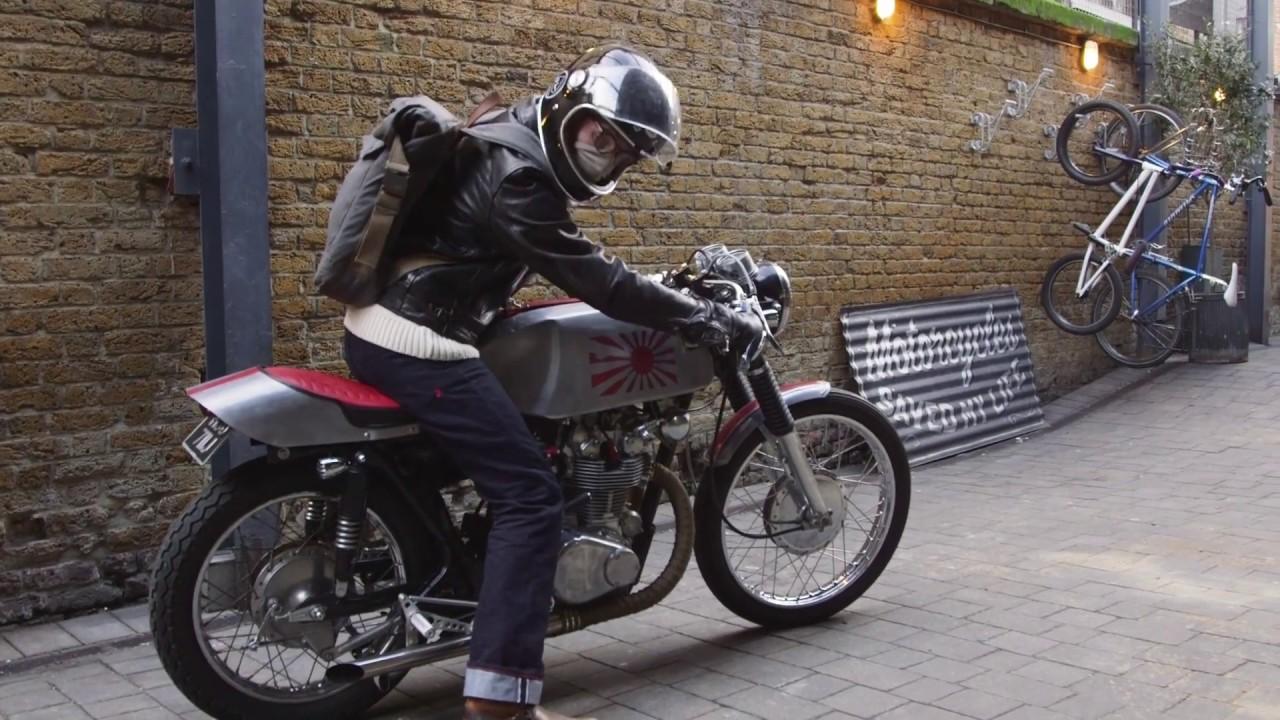 Johns Shed Built Honda CB450 Custom Import