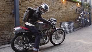 John's Shed Built Honda CB450 Custom Import