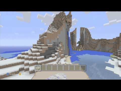 XMAS! Minecraft Xbox 360 Edition Seed Spotlight