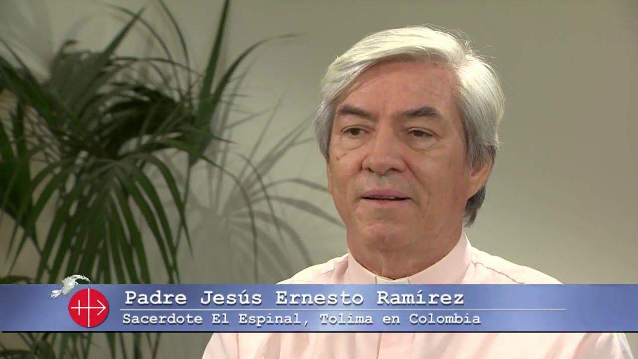 Padre Jesús Ernesto Ramírez, Sacerdote de El espinal, Tolima en Colombia