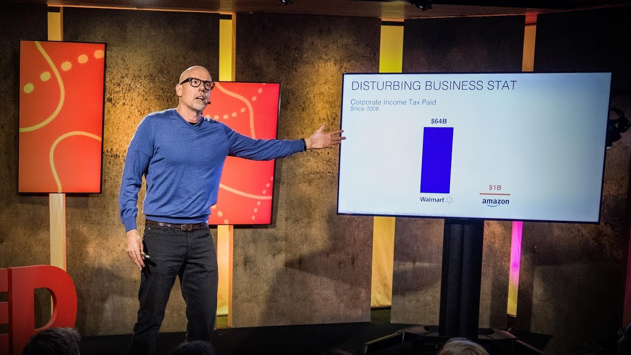 Scott Galloway - How Amazon, Apple, Facebook and Google manipulate our emotions