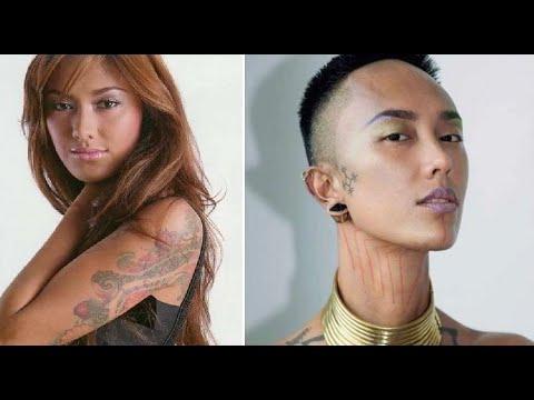 Botak-Tato-Tanpa Busana! 16 Foto fahrani Ini Bikin Shock Netizens