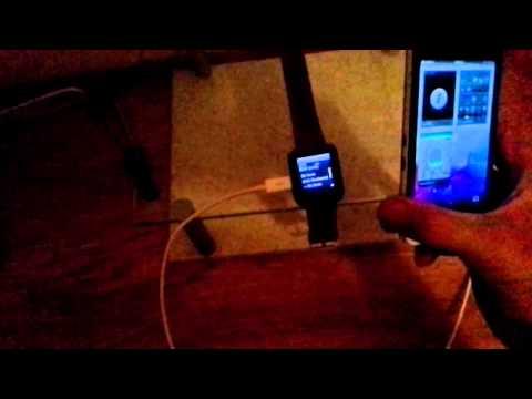 Blackberry z10 u watch Spotify