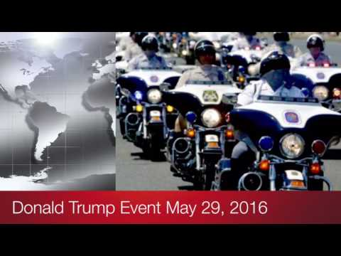 Donald Trump Rolling Thunder Motorcycle Rally 5-29-2016