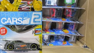 2018 D USA Factory Sealed Hot Wheels Case Unboxing With Project Cars 2