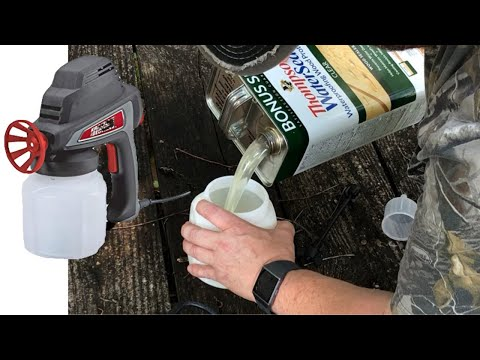 How To Apply Thompson Water Seal to a Wooden Deck