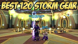 Wizard101: UPDATED 120 Storm Gear - New Crit Ring & Hoard Gear