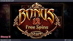 Blood lust BONUS ! , big win , low stake
