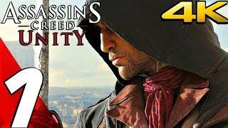 Assassin's Creed Unity - Gameplay Walkthrough Part 1 - Prologue [4K 60FPS ULTRA]