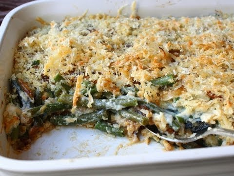 French Onion Green Bean Casserole Recipe Thanksgiving Green Bean Side Dish