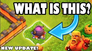 """Video Clash of Clans UPDATE - WTF IS THIS? """"NEW HALLOWEEN THEME UPDATE!"""" 1 Gem Boost is Back! download MP3, 3GP, MP4, WEBM, AVI, FLV April 2018"""