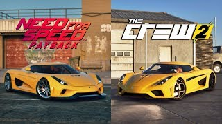 The Crew 2 Vs Need For Speed Payback In Depth Graphics Sound Comparison