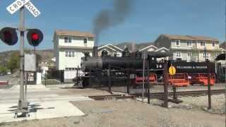 Fillmore & Western Steam Engine #14 @ Mountain View St (Fillmore, CA)