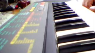 Casio SA-35 demosongs vintage keyboard 80